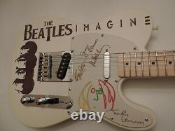 Fender Telecaster The Beatles Custom John Lennon Imagine Tribute Tele Guitar