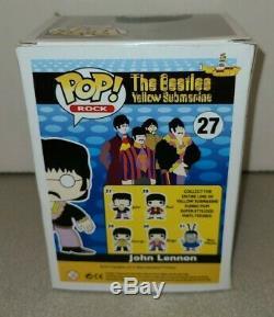 Funko POP Rock The Beatles Yellow Submarine 27 John Lennon New In Box Rare