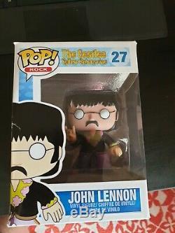 Funko Pop John Lennon. The Beatles Yellow Submarine. No. 27. Boxed RARE VAULTED