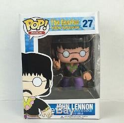 Funko Pop John Lennon Vaulted # 27 Yellow Submarine Vinyl Figurine Beatles