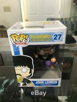 Funko Pop The Beatles Yellow Submarine John Lennon Vaulted #27 (read/see photos)