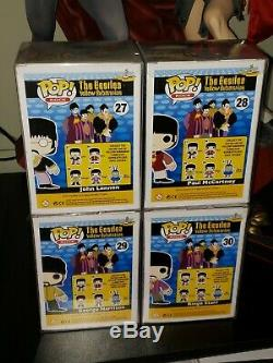 Funko pop The Beatles John Lennon, Paul McCartney, George Harrison, Ringo Starr