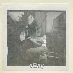 HARRY BENSON Signed Photograph JOHN LENNON & PAUL MCCARTNEY (Beatles) 1964