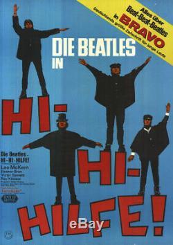 Hi-Hi-Hilfe! ORIGINAL A1 Kinoplakat Beatles / Paul McCartney / John Lennon