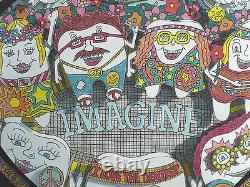 IMAGINE! Give Teeth A Chance John Suchy 3D POP ART DENTAL theme Lennon-Beatles