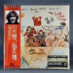 JOHN LENNON Beatles 1st Press Set 2007 JAPAN Mini LP CD's x10 (11 Discs) Sealed
