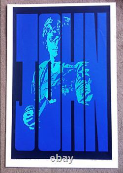 JOHN LENNON SIGNED NUMBERED Print PETER MARSH Original Limited Edition BEATLES