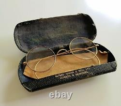 JOHN LENNON'S glasses circa 1965 (with letters of provenance) The Beatles