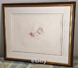 JOHN LENNON Signed w COA Bag One Lithograph EROTIC #5 Autograph THE BEATLES
