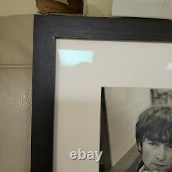 Jim Marshall Framed Photo John Lennon, Candlestick Park, 1966 Last Beatles Concer
