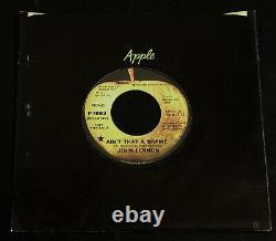 John Lennon-Ain't That A Shame-1975 CANCELLED PROMO 45-NM/UNPLAYED-Beatles
