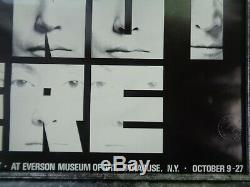 John Lennon And Yoko Ono This Is Not Here Museum Poster 1971