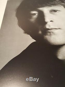John Lennon Avedon Signed Poster Photogragh Photo Signed 27 x 31 LARGE