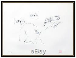John Lennon Bagism Color Serigraph Signed Yoko Ono The Beatles Bag One Artwork