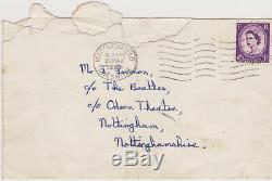John Lennon Beatles 1963 Personalised Autograph Signature Exact Date Nottingham