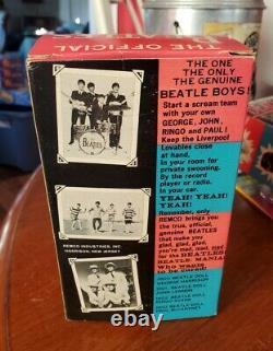 John Lennon Beatles Remco Doll Hair Guitar Box 1964 MiB Stunning