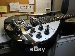 John Lennon Beatles Rickenbacker 325 Iconic Guitar Copy/Replica, Jetglo