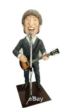 John Lennon Beatles Singer Song Writer Rock N Roll Caricature Resin839 Statue