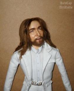 John Lennon Beatles inspired Art Doll Paul McCartney Ringo Starr George Harrison