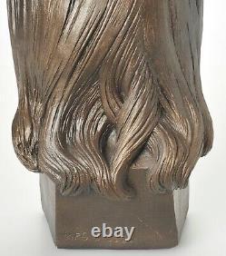 John Lennon Ceramic Statue Bust Sculpture Esco Neal Martz Rare The Beatles