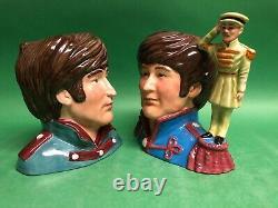 John Lennon Doulton Prototype Character Jug Toby Unique Museum Beatles sale