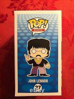 John Lennon Funko Pop The Beatles Pop Rock Vaulted Retired Rare