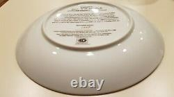 John Lennon Imagine All The People 8 Plate Ltd Rare Beatles Collectible
