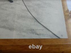 John Lennon Imagine Original Promo Poster It's Here Rolled Very Clean Beatles