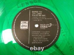 John Lennon JAPAN ORIGINAL 10,000 LIMITED GREEN COLOR WithOBI, The Beatles1982