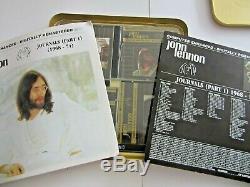 John Lennon Journals part one 1968 -1974-5CD 24 ct Gold -Box Set-Beatles