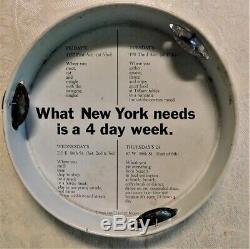 John Lennon Original 1972 One-To-One Madison Square Garden Concert Tambourine