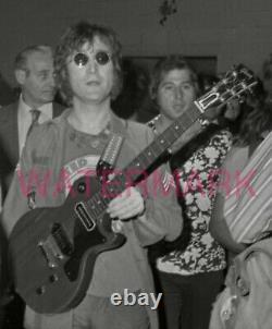 John Lennon Original Negative Of Great Photo From Madison Square Garden -beatles
