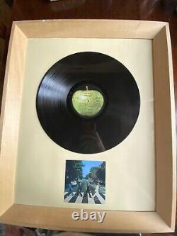 John Lennon Paul Mccartney Beatles Signed Abbey Rd Lp Autographs