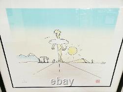 John Lennon Peace On Earth Serigraph Print Yoko Beatles Bag One Artwork 66/300