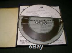 John Lennon Plastic Ono Band + Insert Beatles Reel To Reel Tape 7 1/2 IPS Tested