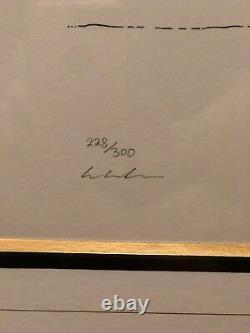 John Lennon Serigraph. Magic Birds, Bag One Beatles