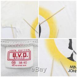 John Lennon Shirt Vintage tshirt 1973 Mind Games Apple Records Rock Band Beatles