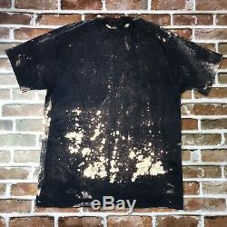 John Lennon Shirt Vintage tshirt NYC Mosquitohead Style Bleach Print Beatles XL