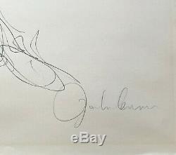 John Lennon Signed Limited Edition Lithograph John and Yoko The Beatles