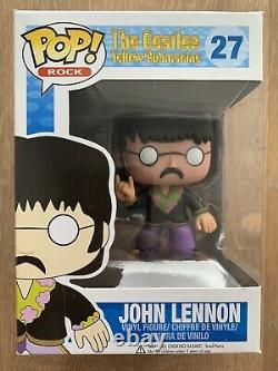 John Lennon The Beatles Authentic Funko POP! Vinyl Figure #27
