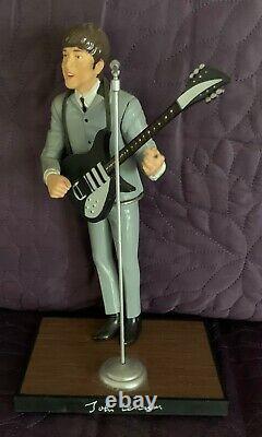 John Lennon The Beatles Figure With Guitar 1991 Hamilton Gifts Apple Music