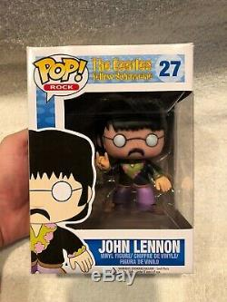 John Lennon The Beatles Yellow Submarine Funko 27 Vaulted with Original Box
