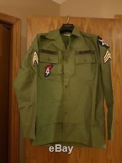 John Lennon Us Military Army Vintage Vietnam Shirt Medium The Beatles Revolution