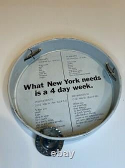 John Lennon Yoko Ono Original 1972 One-To-One Used Concert Tambourine