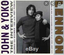 John Lennon Yoko Ono Rare BBC Tapes Interview 2 x cd Andy Peebles Beatles 1980