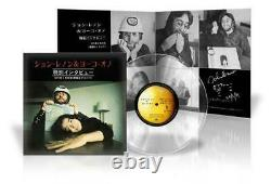 John Lennon & Yoko Ono Special Interview 1971 Set of 2 Beatles Japan Limited