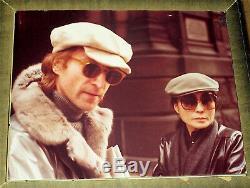 John Lennon / Yoko Ono / The Beatles / Original 16x20 Photo / Paul Goresh