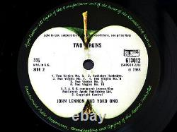 John Lennon & Yoko Ono/Two Virgins/1968 Apple LP/Beatles