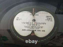 John Lennon & Yoko Ono Two Virgins 1968 Orig 1st Pressing Vinyl Lp Apple Beatles