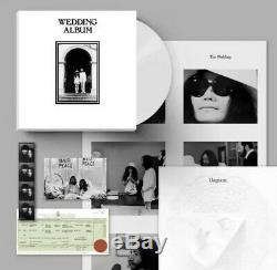 John Lennon Yoko Ono Wedding Album Ltd /300 Clear Vinyl LP Box Set The Beatles